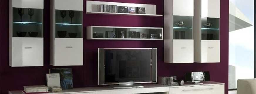 Особенности выбора модульных шкафов в гостиную, и их модели