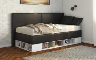 Традиционная кровать-тахта в стиле классик, популярные формы и цвета