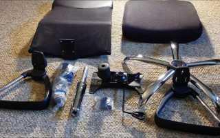 Разборка компьютерного кресла своими руками, особенности конструкции