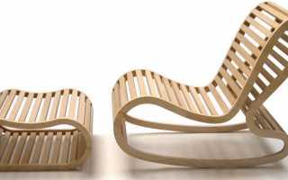 Варианты изготовления кресла своими руками, схемы и чертежи
