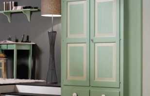 Варианты шкафов платяных двухстворчатых, их важные особенности