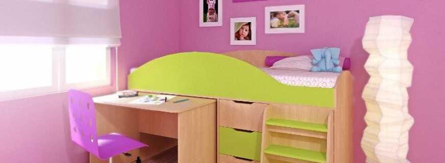 Особенности и разновидности кроватей-чердаков для детей от 3 лет