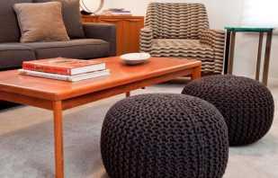 Существующие модели бескаркасной мебели и важные особенности