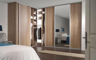 Обзор встроенных угловых шкафов, и их особенности