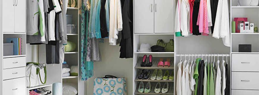 Гардеробные комнаты какие бывают, фото с дизайн проектами
