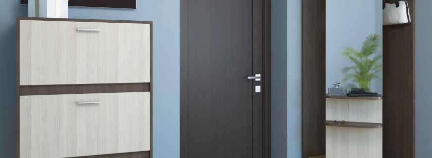 Какие существуют шкафы для одежды узкие, обзор моделей