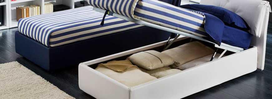 Односпальные кровати с подъемным механизмом, плюсы и минусы