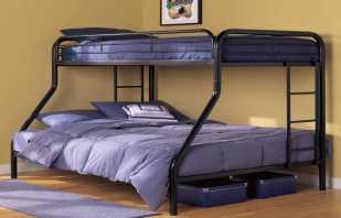 Особенности двухъярусных кроватей для взрослых, их разновидности
