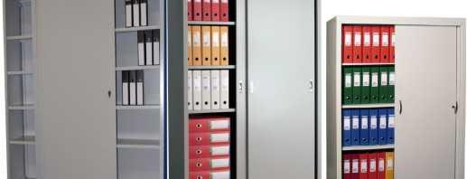 Какие встречаются металлические шкафы для офисов, их особенности