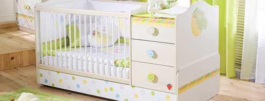 Требования к детским кроватям для новорожденных, разнообразие моделей