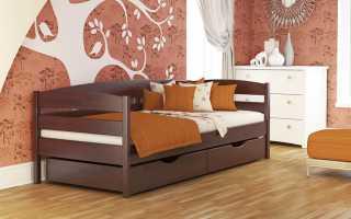 Как выбрать детскую кровать из массива дерева, возможные варианты