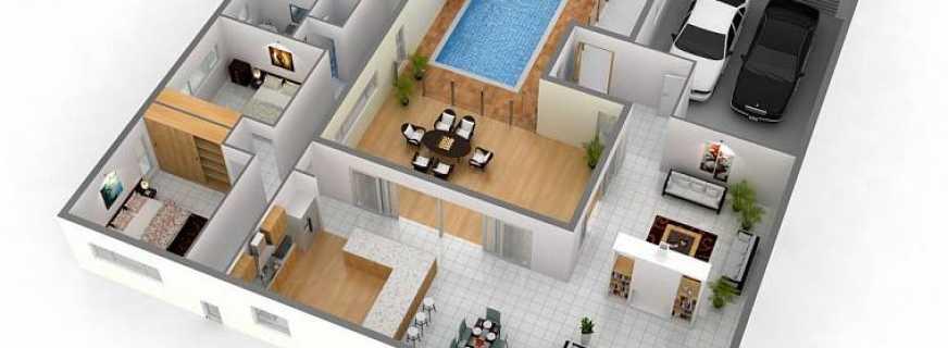 Планирование дома: как выбрать расположение комнат