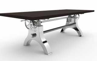 Преимущества стола с регулируемой высотой, критерии выбора конструкции
