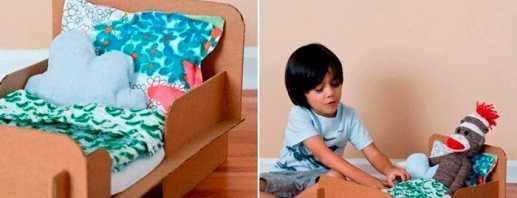 Красивые и практичные кровати для кукол, как сделать самостоятельно