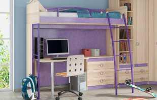 Особенности металлической кровати-чердака, нюансы выбора и установки