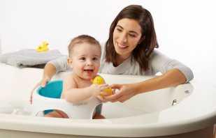 Разновидности стульчиков для купания малыша в ванной, советы по выбору
