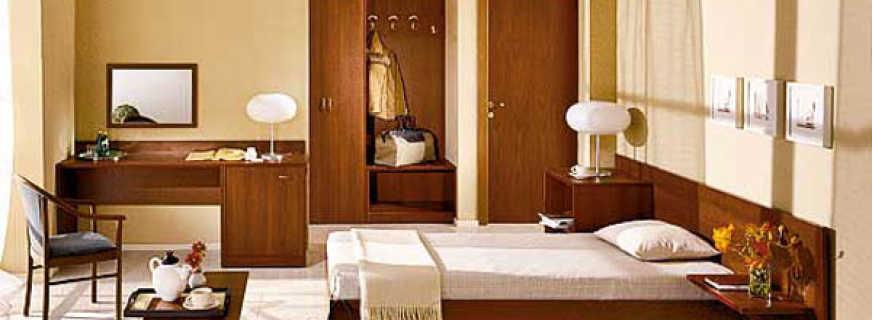 Особенности мебели в гостиницу и отель, возможные варианты