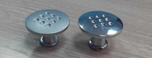 Какие бывают ручки кнопки для мебели