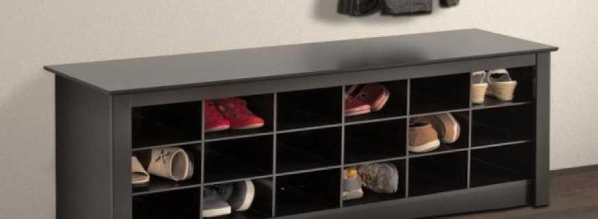 Обзор тумб под обувь для прихожей, советы по выбору