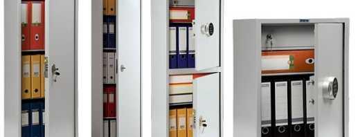 Какие существуют шкафы бухгалтерские металлические, советы по выбору