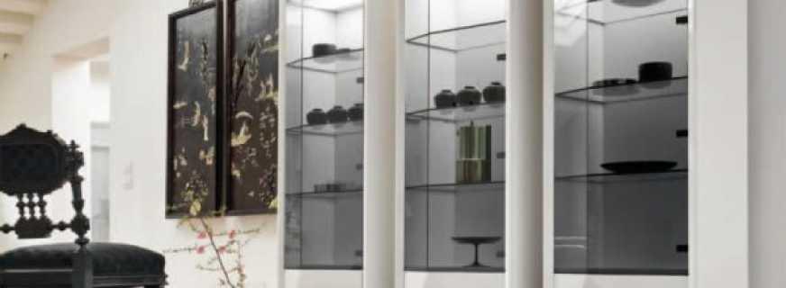 Обзор шкафов витрин, особенности моделей