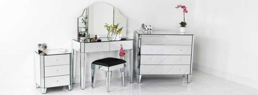 Обзор зеркальной мебели, важные нюансы выбора