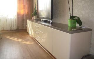 Как выбрать комод в гостиную длинный, обзор моделей