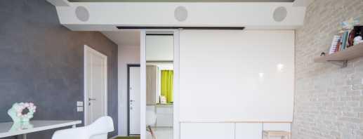 Варианты расстановки мебели в однокомнатной квартире, советы дизайнеров