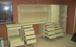 Особенности мебели в гараж, правила размещения конструкций