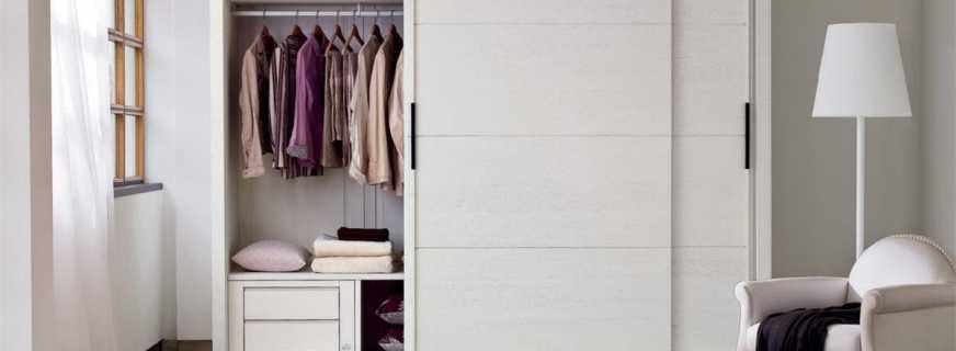 Обзор шкафов купе белых, правила выбора