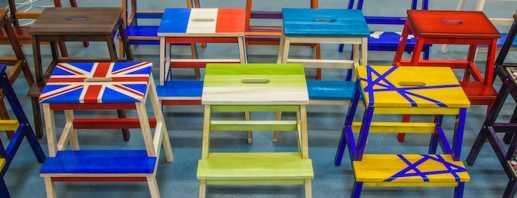 Популярные модели табуретов-лестниц от Икеа, функциональность изделий