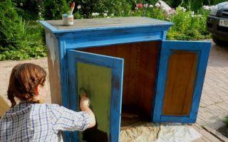 Как отреставрировать старую мебель самому, советы мастеров