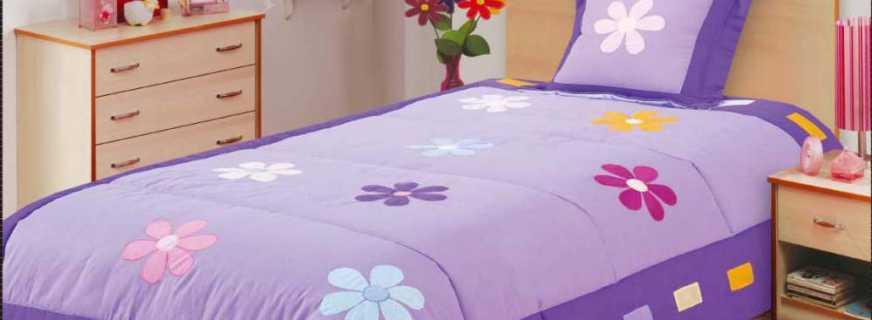 Новинки покрывал для детских кроватей, важные критерии выбора