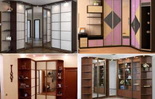 Какие встречаются размеры угловых шкафов, нестандартные конструкции