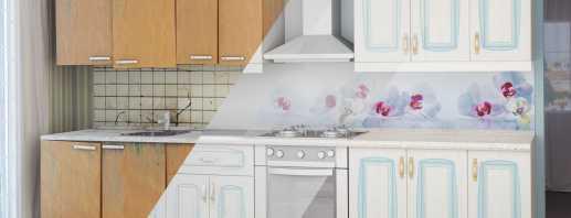 Варианты реставрации мебели на кухне, советы специалистов