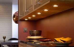 Особенности мебельных светильников, обзор моделей