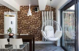 Разновидности подвесных кресел в интерьере, особенности конструкции