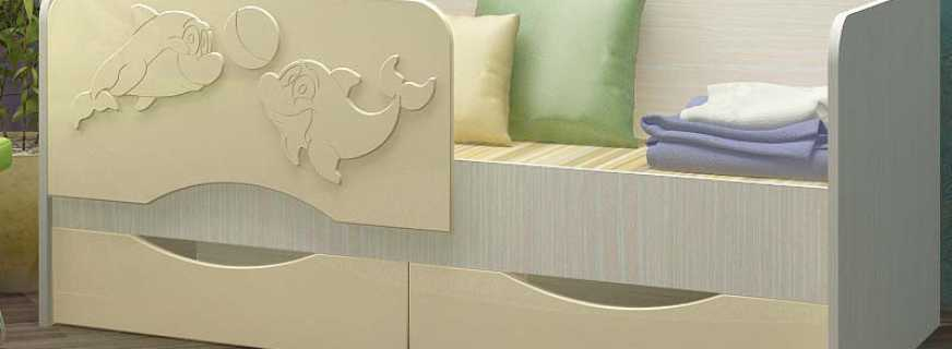 Популярные модели детской кровати дельфин, преимущества конструкции перед другими
