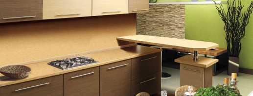 Варианты корпусной мебели в кухню, советы по выбору