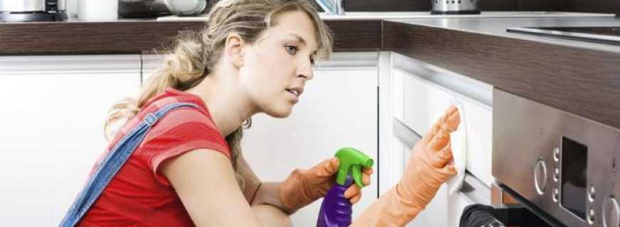 Способы удаления жира с мебели на кухне, чем отмыть