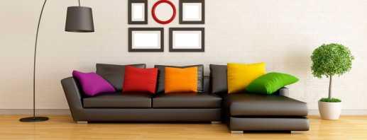 Выбор цвета дивана с учетом особенностей интерьера, популярные решения