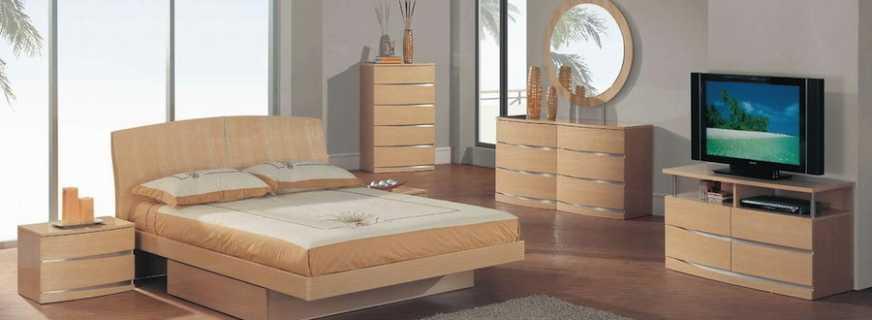 Мебель цвета клен, фото интересных вариантов