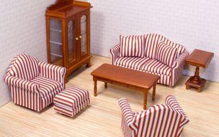 Варианты кукольной мебели, безопасные материалы, интересные идеи