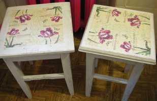 Советы как сделать своими руками декупаж из салфеток на мебели
