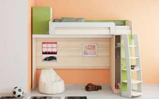 Функциональные различия кроватей чердак в зависимости от модели, критерии выбора