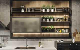 Обзор шкафов кухонных навесных, правила выбора