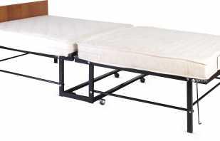 Какой может быть металлическая раскладная кровать, имеющиеся недостатки