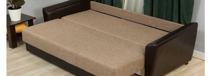 Преимущества «еврокнижки», популярного механизма трансформации диванов