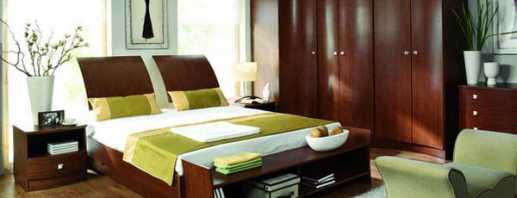 Какие встречаются варианты корпусной мебели в спальню