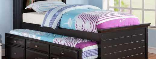 Конструктивные особенности двухъярусных выдвижных кроватей